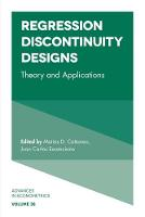 R. Carter Hill - Regression Discontinuity Designs: Theory and Applications (Advances in Econometrics) - 9781787143906 - V9781787143906