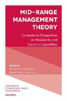 RON SANCHEZ - Mid-Range Management Theory: Competence Perspectives on Modularity and Dynamic Capabilities (Research in Competence-Based Management) - 9781787144040 - V9781787144040