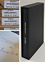 Anne Enright - Actress - Limited Edition - 9781787332645 - 9781787332645