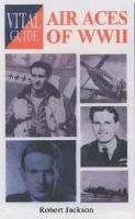 Jackson, Robert - Air Aces of WWII - 9781840374124 - V9781840374124