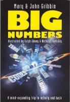 Mary Gribbin, John Gribbin, Ralph Edney - Big Numbers - 9781840464313 - KST0009923