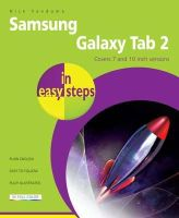 Nick Vandome - Samsung Galaxy Tablet in Easy Steps: For Tab 2 and Tab 3 (covers Android Jelly Bean) - 9781840785999 - 9781840785999