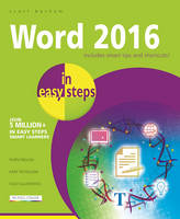 Basham, Scott - Word 2016 in Easy Steps - 9781840786521 - V9781840786521