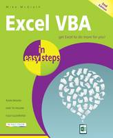 McGrath, Mike - Excel VBA in easy steps - 9781840787375 - V9781840787375