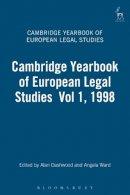 - The Cambridge Yearbook of European Legal Studies - 9781841130880 - V9781841130880