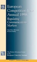 - European Competition Law Annual - 9781841130996 - V9781841130996