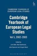 - Cambridge Yearbook of European Legal Studies: Volume 5, 2002-2003 - 9781841133614 - V9781841133614