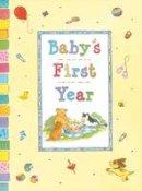 Award, Anna - Baby's First Year - 9781841351049 - V9781841351049