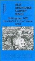 Blake, Ron - Nottingham NW 1913: Nottinghamshire Sheet 38.13 (Old Ordnance Survey Maps of Nottinghamshire) - 9781841518855 - V9781841518855