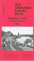 Godfrey, Alan - Hampton Court and East Molesey 1912 (Old Ordnance Survey Maps of Surrey) - 9781841519012 - V9781841519012