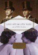 - Love Speaks Its Name - 9781841597454 - V9781841597454