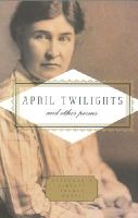 Willa Cather - April Twilights and Other Poems - 9781841597942 - V9781841597942