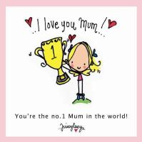 Lucy Heavens - I Love You Mum (Juicy Lucy Gift Books) - 9781841613000 - KTJ0040651