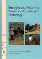 Patricia C. Anderson, Annelou L.van Gijn, John Whittaker - Exploring and Explaining Diversity in Agricultural Technology - 9781842175156 - V9781842175156