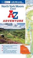 Geographers' A-Z Map Company - North York Moors (East) Adventure Atlas (A-Z Adventure Atlas) - 9781843489351 - V9781843489351