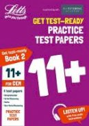 The 11 Plus Tutoring Academy - Letts 11+ Success — 11+ Practice Test Papers Book 2, Inc. Audio Download: For The CEM Tests - 9781844198429 - V9781844198429