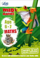 Letts KS1 - Letts Wild About – Maths — Maths Age 6-7 - 9781844198825 - KSG0015439