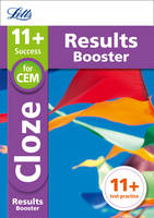 Collins UK - Letts 11+ Success – 11+ Cloze Results Booster: for the CEM tests: Targeted Practice Workbook - 9781844199006 - V9781844199006