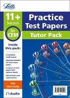 Letts 11+ - 11+ Mock Test Papers Tutor Pack for CEM Inc Audio Download (Letts 11+ Success) - 9781844199020 - V9781844199020