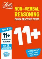 Collins UK - Letts 11+ Success – 11+ Non-Verbal Reasoning Quick Practice Tests Age 9-10 for the GL Assessment tests - 9781844199136 - KRA0002083