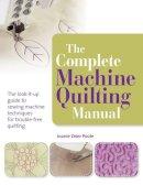 Carole Sedgley - Complete Machine Quilting Manual - 9781844487769 - V9781844487769