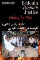 Ginat, Joseph - Bedouin Bishah Justice - 9781845195656 - V9781845195656
