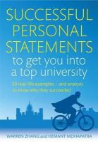 Zhang, Warren - Successful Personal Statements to Get You into a Top University - 9781845285142 - V9781845285142