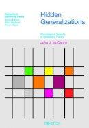 McCarthy, John J. - Hidden Generalizations - 9781845530525 - V9781845530525