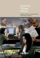 Melzer, Dan - Exploring College Writing - 9781845537791 - V9781845537791