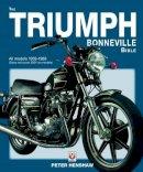 Henshaw, Peter - The Triumph Bonneville Bible (59-83) - 9781845843984 - V9781845843984