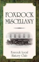 Fockrock Local History Club - Foxrock Miscellany - 9781845887346 - KSC0000960