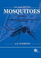 Clements, Alan N. - The Biology of Mosquitoes Volume 3 - 9781845932428 - V9781845932428
