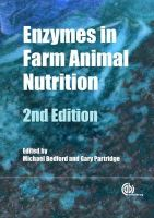 M Bedford, G Patridge - Enzymes in Farm Animal Nutrition - 9781845936747 - V9781845936747