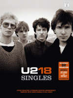 U2 - U2-18 SINGLES (Recorded Versions Guitar) - 9781846098994 - V9781846098994
