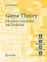 Webb, James - Game Theory - 9781846284236 - V9781846284236