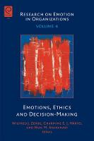 - Emotions, Ethics and Decision-Making (Research on Emotion in Organizations) - 9781846639401 - V9781846639401