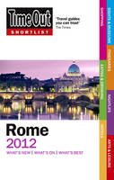 Time Out Guides Ltd - Time Out Shortlist Rome 2012 - 9781846702525 - V9781846702525