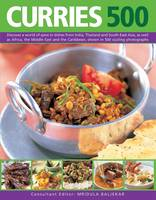 Mridula Baljekar - 500 Curries: Discover A World Of Spice In Dishes From India, Thailand And South-East Asia, As Well As Africa, The Middle East And The Caribbean, Shown In 500 Sizzling Photographs - 9781846818424 - V9781846818424