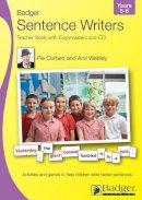 Corbett, Pie; Webley, Ann - Badger Sentence Writers - 9781846912122 - V9781846912122