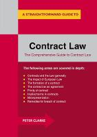 Clarke, Peter - Contract Law: A Straightforward Guide - 9781847166777 - V9781847166777