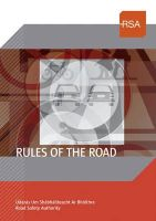 - Rules of the Road - 9781847172228 - KOC0015610