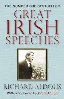 Richard Aldous - Great Irish Speeches - 9781847248879 - V9781847248879