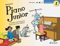 Heumann, Hans-Gunter - Piano Junior: Lesson: Book 1: A Creative and Interactive Piano Course for Children - 9781847614254 - V9781847614254