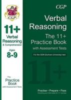 CGP Books - 11+ Verbal Reasoning Practice Book with Assessment Tests (Age 8-9) for the CEM Test - 9781847625700 - V9781847625700