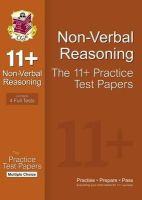 Parsons, Richard - 11+ Nonverbal Reasoning Practice Test Papers: Multiple Choic - 9781847628374 - V9781847628374