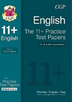 Parsons, Richard - 11+ English Practice Test Papers: Multiple Choice - 9781847628442 - V9781847628442
