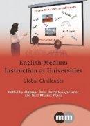Aintzane Doiz - English-medium Instruction at Universities - 9781847698148 - V9781847698148
