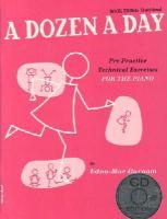 Burnam, Edna Mae - Dozen a Day - 9781847726438 - V9781847726438