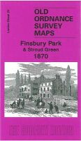 Godfrey, Alan - Finsbury Park and Stroud Green 1870 (Old Ordnance Survey Maps of Lo) - 9781847842466 - V9781847842466