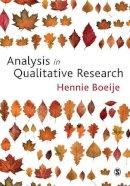 Boeije, Hennie - Analysis in Qualitative Research - 9781847870070 - V9781847870070